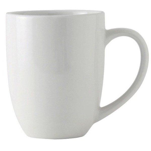 Melange Coupe White 36-piece 20-ounce Mug Set