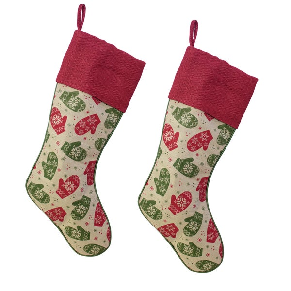 Mitten Stockings (Set of 2)