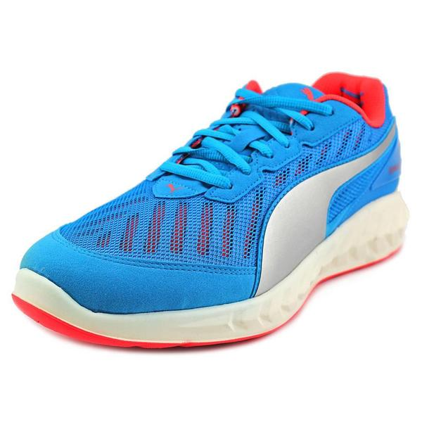 Puma Men's Ignite Ultimate Blue Mesh Athletic Shoes