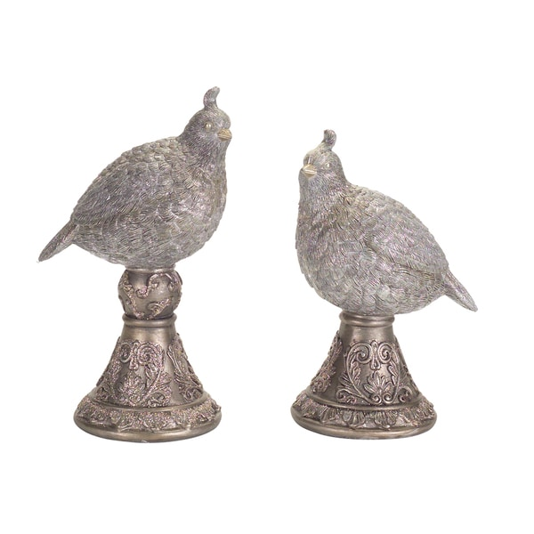 Partridge Finial (Set of 2)