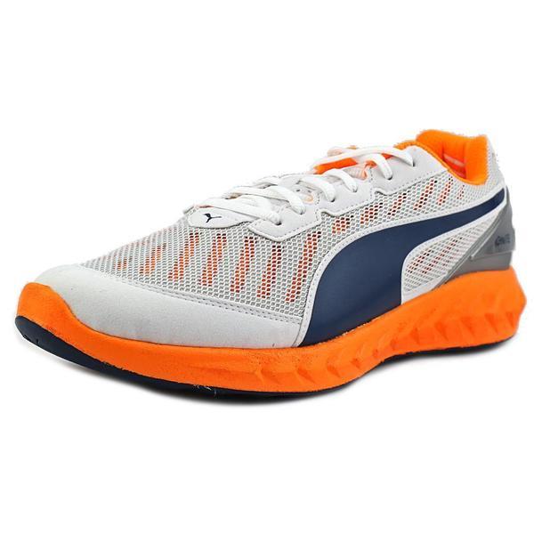 Puma Men's 'Ignite' White Mesh Athletic Shoes