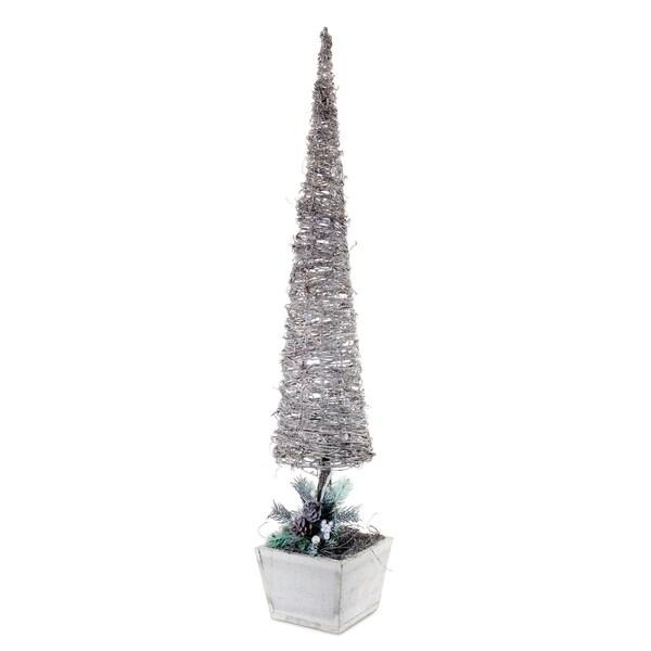 Snowy Topiary Figurine 21102168