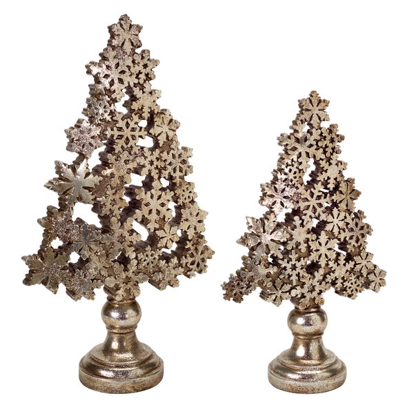 Snowflake Christmas Tree (Set of 2)