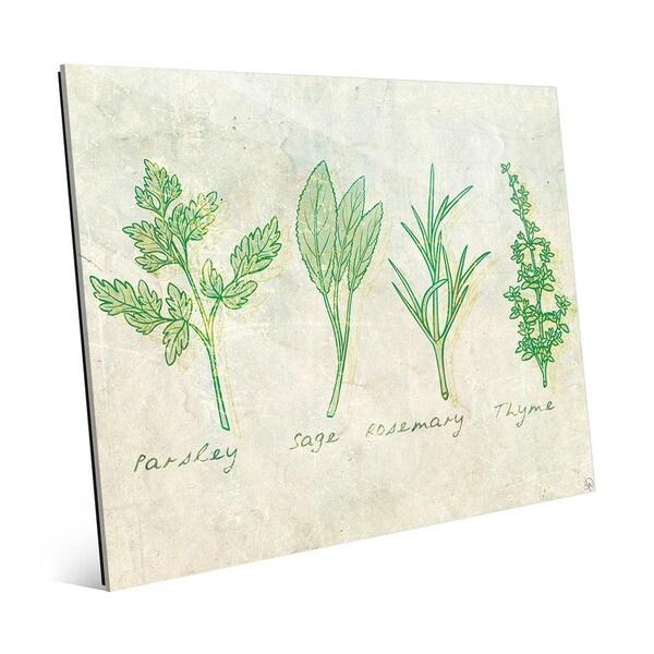 Herbs Acrylic Wall Art
