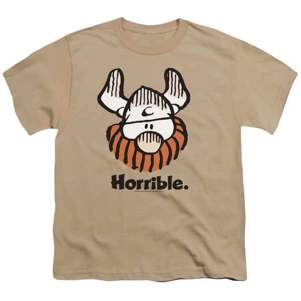 Hagar The Horrible/Horrible Short Sleeve Youth 18/1 in Sand