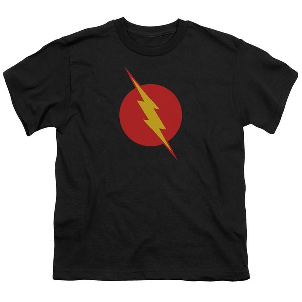 JLA/Reverse Flash Short Sleeve Youth 18/1 in Black
