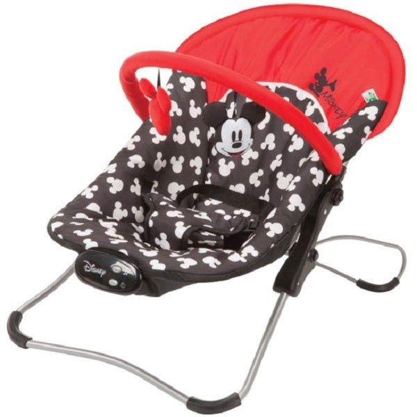 Disney Mickey Silhouette Snug-fit Folding Bouncer