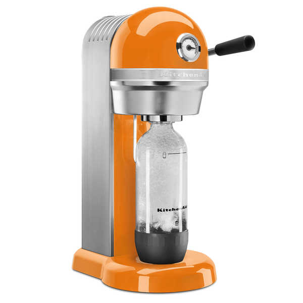 KitchenAid Tangerine Sparkling Beverage Maker