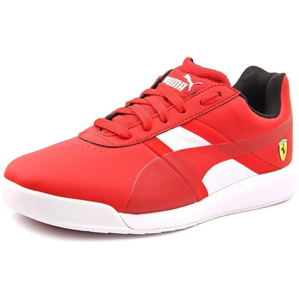 Puma Men's Podio Tech SF Red Synthetic Athletic Shoes