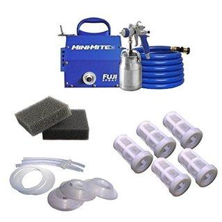 Fuji Mini-Mite 3 T70 HVLP Spray System + Accessory Kit 21105168
