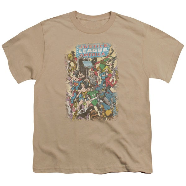 JLA/Most Important Man Short Sleeve Youth 18/1 in Sand
