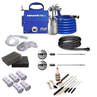 Fuji Mini-Mite 3 T70 HVLP Spray System + Pro Accessory Kit 21105241