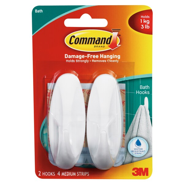 Command Strips 17081B Medium Command Designer Hooks 2-count
