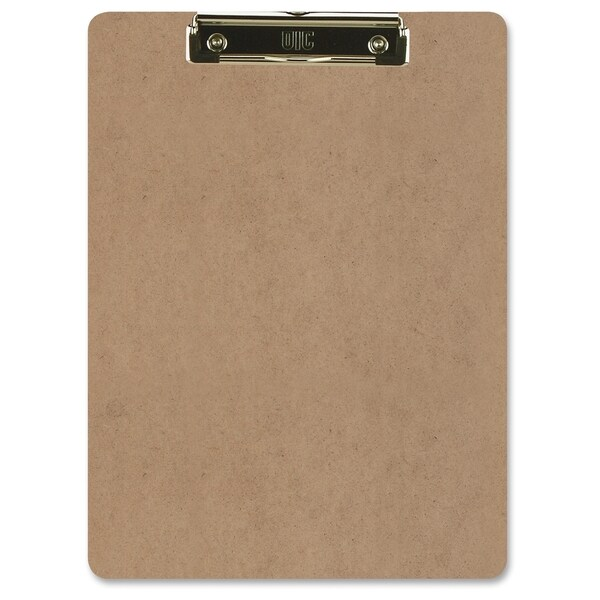 "Officemate International 83219 9"" X 12-1/2"" Brown Low Profile Clipboard"