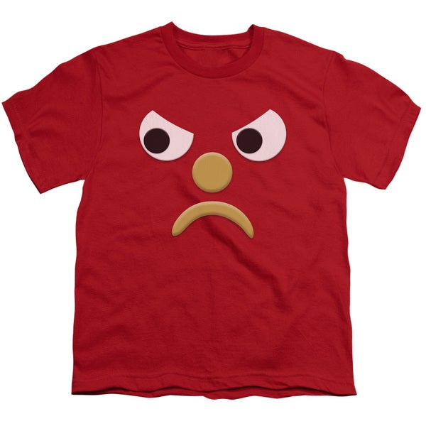 Gumby/Blockhead G Short Sleeve Youth 18/1 in Red