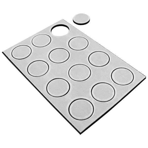 "Master Magnetics 07070 1/2"" Flex Disc Magnets 12 count"