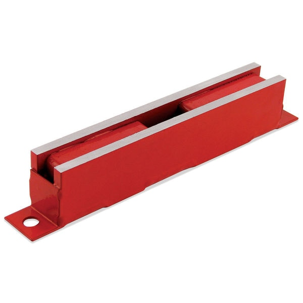 "Master Magnetics 07202 5"" X 3/4"" 100# Red Super Latch Magnet"
