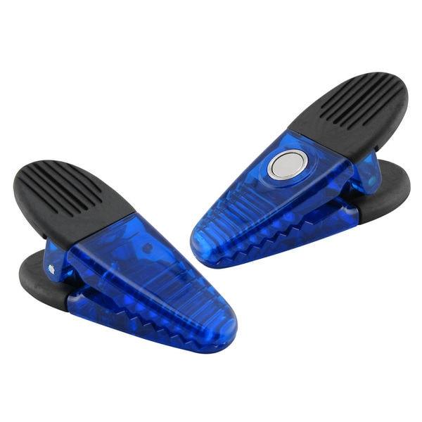 "Master Magnetics 07506 3.5"" Blue Magnet Clips 2 Count"