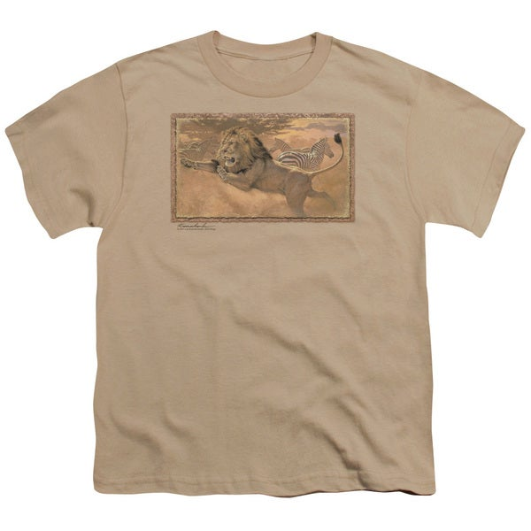 Wildlife/The Rush Short Sleeve Youth 18/1 in Sand