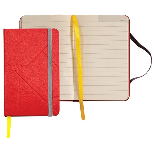 "Tops 56875 5.5"" X 3.5"" Red Mini Hardbound Journal"