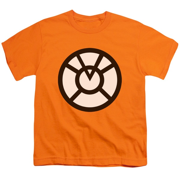 Green Lantern/Agent Orange Short Sleeve Youth 18/1 in Orange