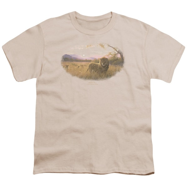 Wildlife/Rising Son Short Sleeve Youth 18/1 Cream/Ivory