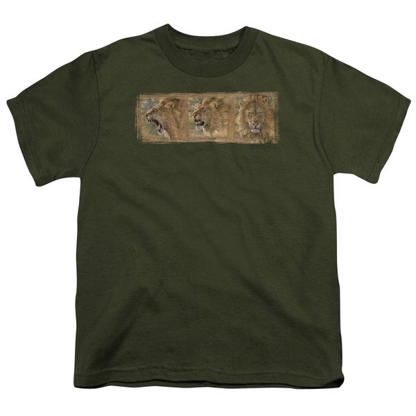 Wildlife/Mood Swing Short Sleeve Youth 18/1 Military Green