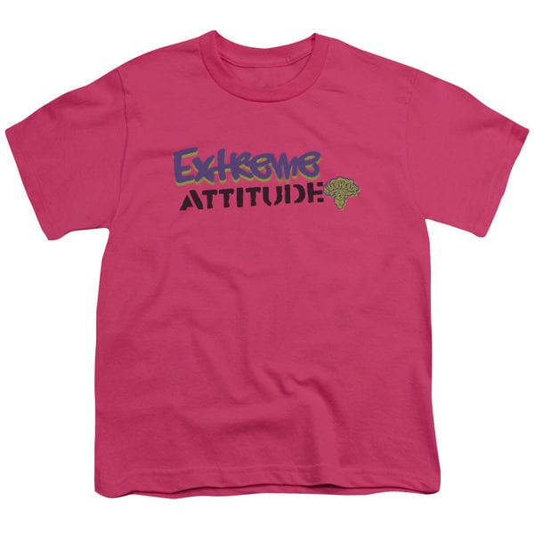 Warheads/Extreme Short Sleeve Youth 18/1 Hot Pink