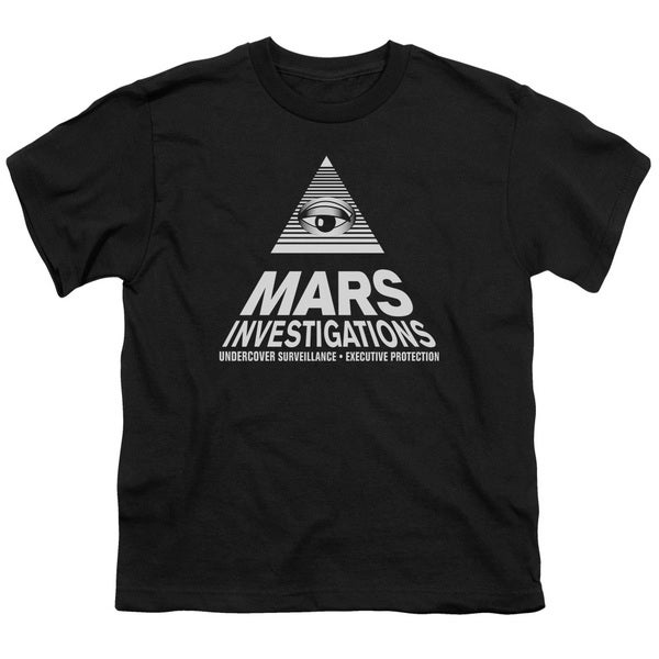 Veronica Mars/Marts Investigations Short Sleeve Youth 18/1 Black