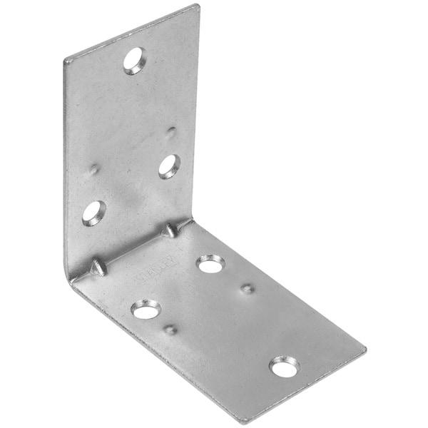 Stanley Hardware 750155 Bright Nickel Interior Decor Heavy Duty Handrail Bracket