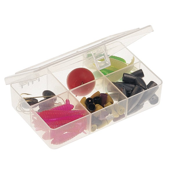 Plano 3448-60 6 Compartment Clear StowAway Organizer