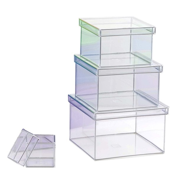 Design Ideas 165301 Clear Tiny Storage Box