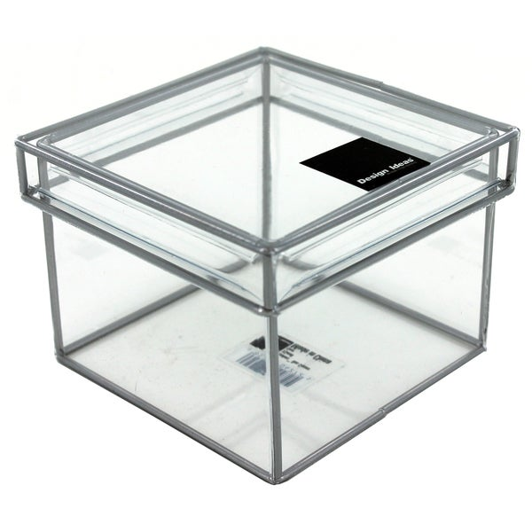 Design Ideas 165311 Extra-Small Clear Storage Box