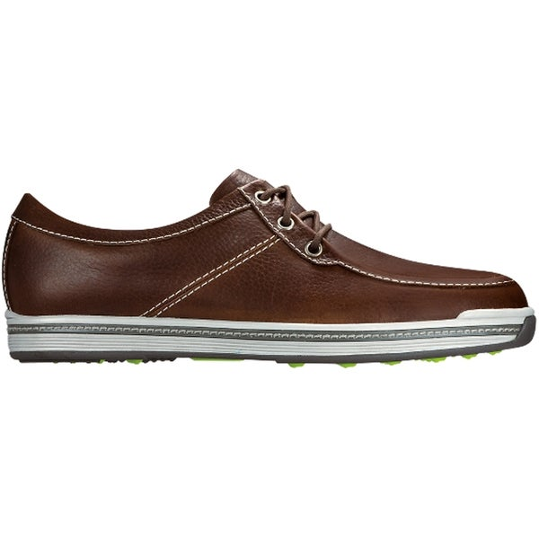 FootJoy Contour Casual Boat Golf Shoes 2016 Dark Brown