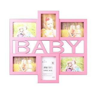 Pink Baby Collage 4-inch x 6-inch Photo Frame