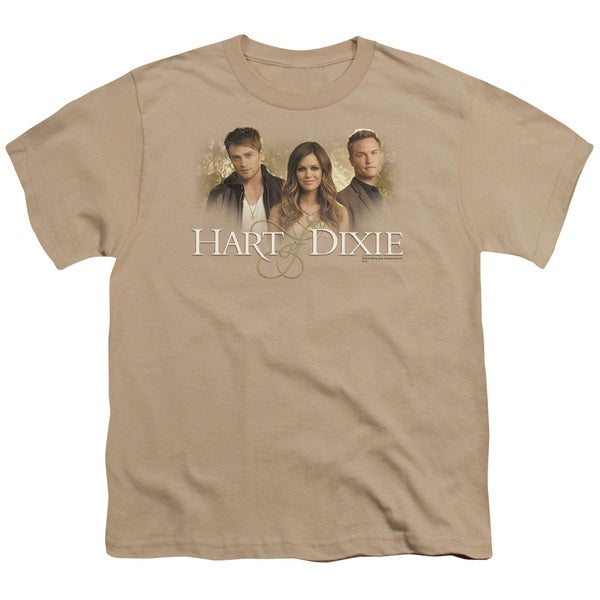 Hart Of Dixie/Cast Short Sleeve Youth 18/1 in Sand