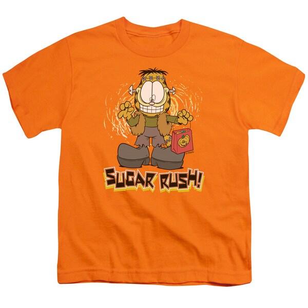 Garfield/Sugar Rush Short Sleeve Youth 18/1 in Orange