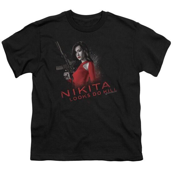 Nikita/Looks Do Kill Short Sleeve Youth 18/1 in Black