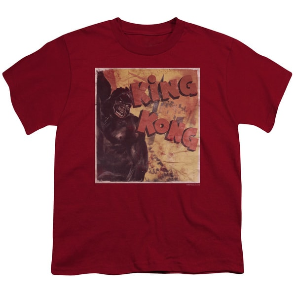 King Kong/Primal Rage Short Sleeve Youth 18/1 Cardinal
