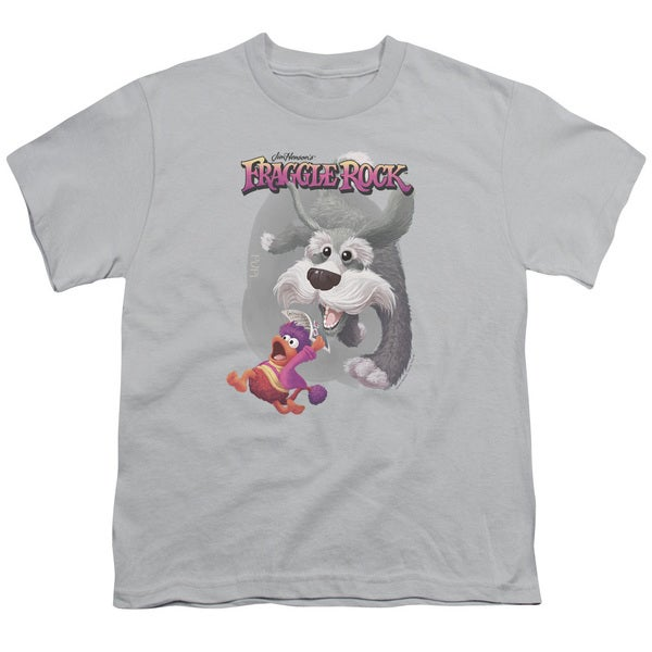 Fraggle Rock/In Pursuit Short Sleeve Youth 18/1 Silver