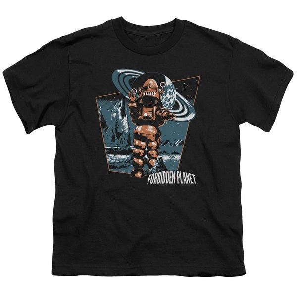 Forbidden PlanET/Robby Walks Short Sleeve Youth 18/1 in Black