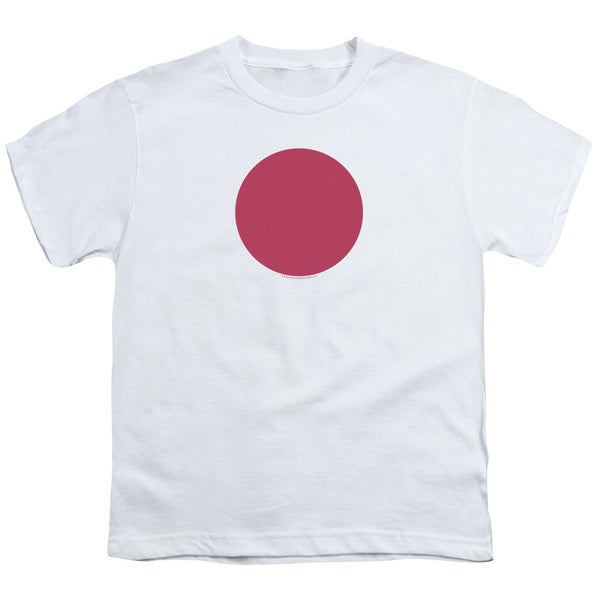 Bloodshot/Spot Short Sleeve Youth 18/1 in White