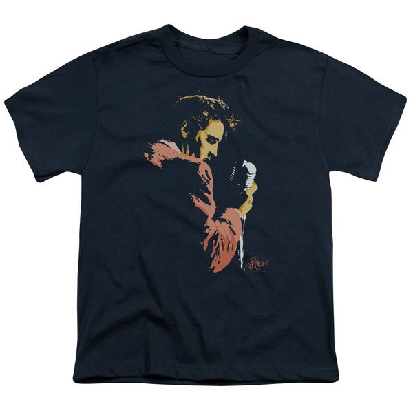Elvis/Early Elvis Short Sleeve Youth 18/1 in Navy