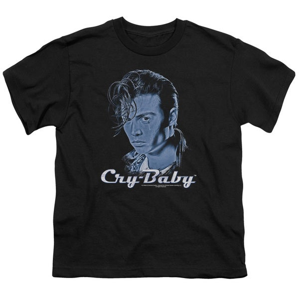 Cry Baby/King Cry Baby Short Sleeve Youth 18/1 Black