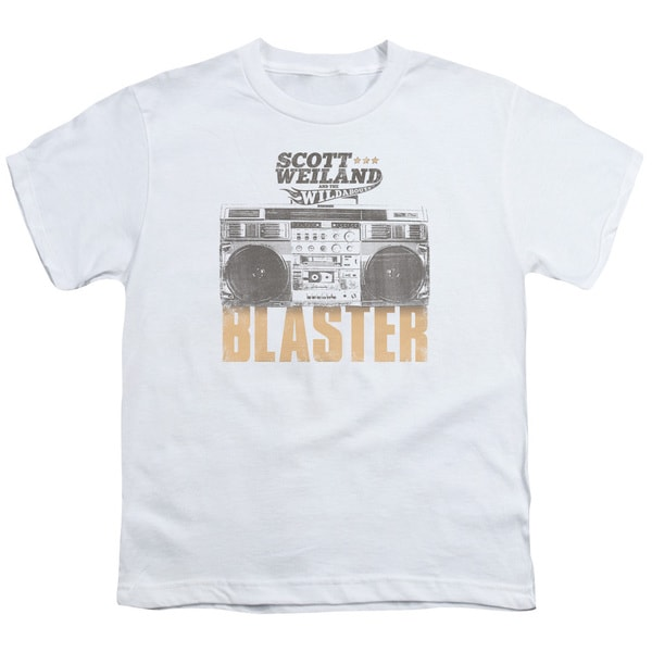Scott Weiland/Blaster Short Sleeve Youth 18/1 in White