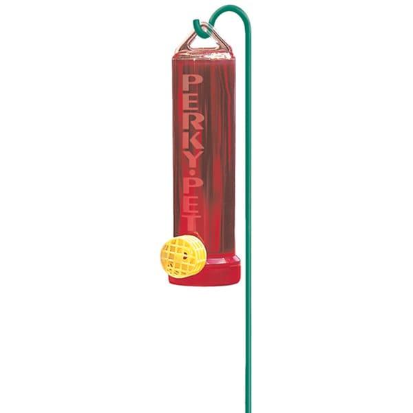 Perky Pet 3 Oz Red Hummingbird Feeder & Mounting Rod