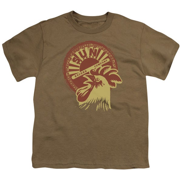 Sun/Good Morning Short Sleeve Youth 18/1 Safari Green