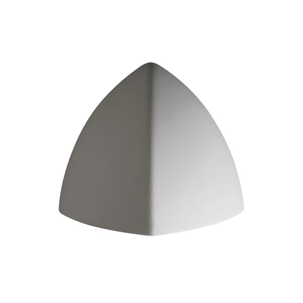 Justice Design Group Ambiance Bisque Outdoor Small Abis Wall Sconce