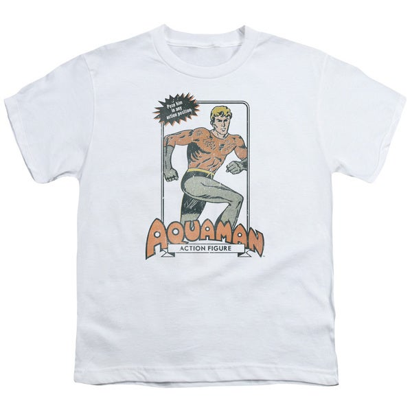 DC/Am Action Figure Short Sleeve Youth 18/1 in White 21123557