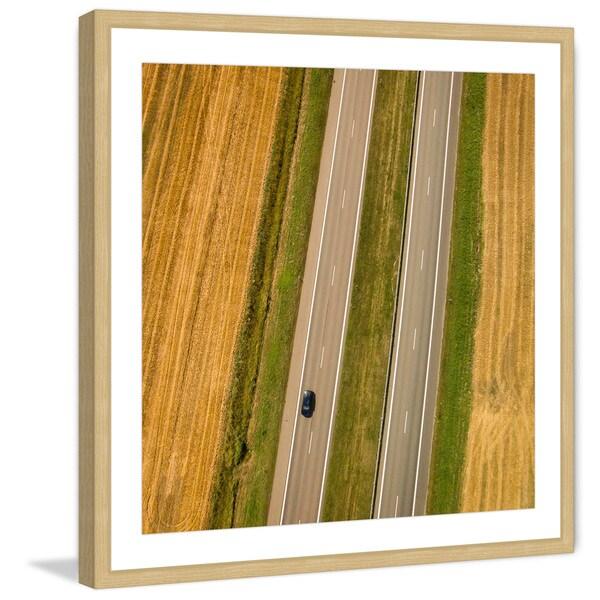 Marmont Hill - 'Biway' by Karolis Janulis Framed Painting Print